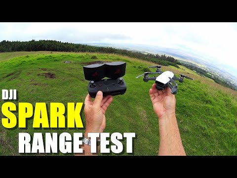 DJI SPARK Review - Part 3 - [4 Mile In-Depth Range Test with RC Controller & OTG Cable] - UCVQWy-DTLpRqnuA17WZkjRQ