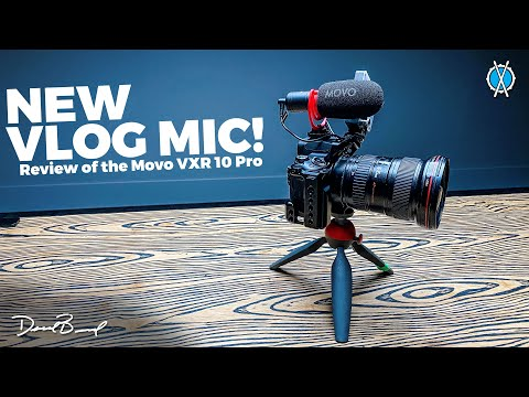 New Vlog Mic! Sounds so good. // Review of the Movo VXR10-PRO