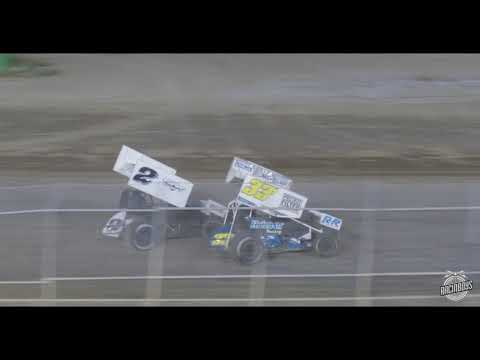 ASCS Frontier Highlights Sweetwater Speedway 8 14 21 - dirt track racing video image