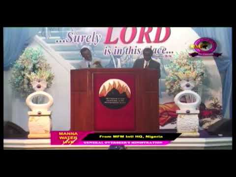 MFM Manna Water Service 07-10-2020 - Dealing With The Aura of Darkness Ministering Dr D. K. Olukoya
