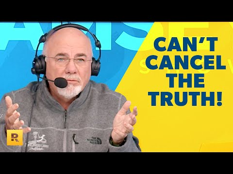 You Cant Cancel the Truth About Winning With Money! - Dave Ramsey Rant