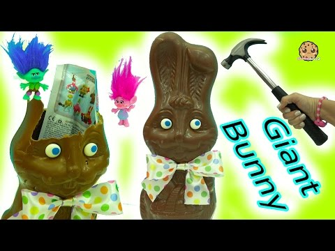 Giant Chocolate Bunny with Surprise Blind Bags + Easter DIY Boss Baby & Trolls Eggs - UCelMeixAOTs2OQAAi9wU8-g