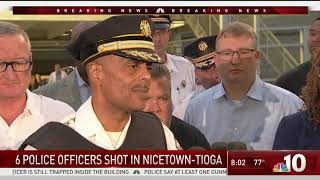 Commissioner: Potential Hostage Situation as Officers Trapped in Home With Gunman