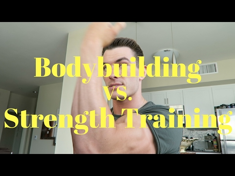 Bodybuilding Vs  Strength Training (The Facts) - UCOFCwvhDoUvYcfpD7RJKQwA