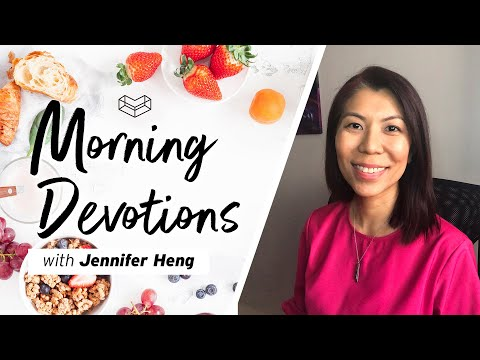 Giving God Glory  Devotion  Jennifer Heng  Cornerstone Community Church  CSCC Online