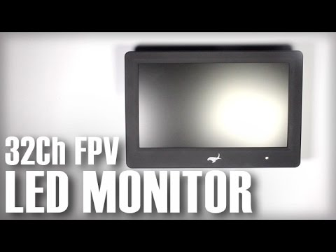 "Sharp Vision 7"" LED Backlight 5.8Ghz Monitor Built-in Diversity Receivers - UCOT48Yf56XBpT5WitpnFVrQ"