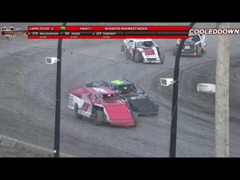 www cooleddown tv  LIVE LOOK IN  Weekly Racing August 5th 2021   Victory Lane Speedway Winnipeg, MB - dirt track racing video image