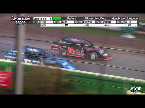 Gondik Law Speedway 10/16/21 WISSOTA Midwest Modified Final Laps - dirt track racing video image