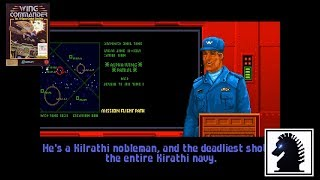 DOS Wing Commander - #11 Dakota System Mission #3: Destroy Kilrathi Convoy