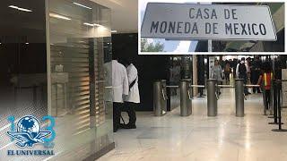 Centenarios y monedas con valor de 50 mdp entre lo robado en Casa de Moneda