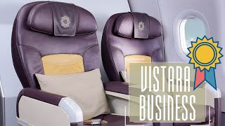 BEST INDIAN BUSINESS CLASS - VISTARA A320