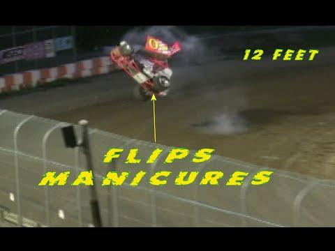 Sprintcar Flips 2009 Season @ Ohsweken Speedway The ARCHIVE - dirt track racing video image