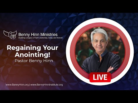 Regaining Your Anointing!