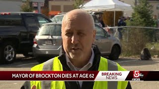 Brockton Mayor Bill Carpenter dies at 62