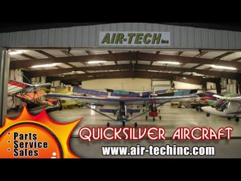 Quicksilver Aircraft, Air Tech, Bever Borne, Quicksilver Aircraft History.