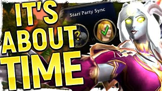 BRILLIANT! Patch 8.2.5's Surprise - Party Sync | BIG Implications For WoW's Level Squish Plan!