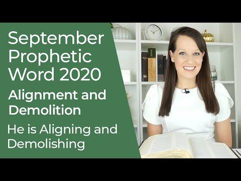 Prophetic Word for September 2020