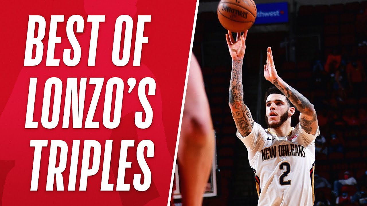Best of Lonzo Ball's Triples This Season! 🔥