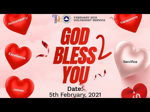RCCG FEBRUARY 2021 HOLY GHOST SERVICE - PSF  YOUTH HOUR