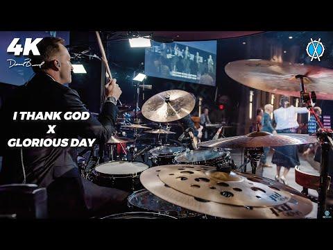 Glorious Day x I Thank God Drum Cover // Daniel Bernard
