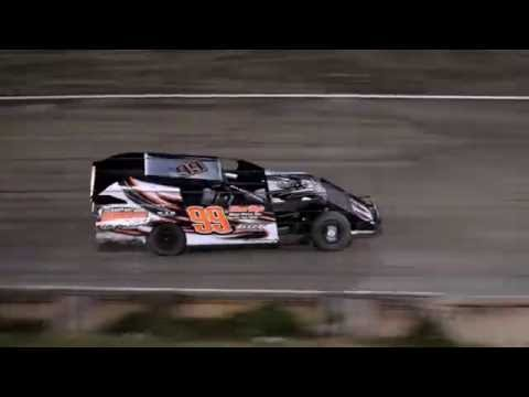 RIVERSIDE INT SPEEDWAY MODIFIED 9 10 16 - dirt track racing video image
