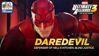 Marvel Ultimate Alliance 3 - Defender of Hell's Kitchen Delivering Blind Justice (Switch Gameplay)