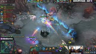 Fnatic vs RoyalNeverGiveUp Game 1 (Bo2) | The International 2019 Groupstage