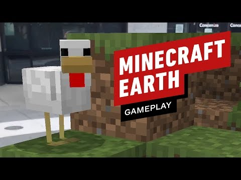 17 Minutes of Minecraft Earth Closed Beta Gameplay - UCKy1dAqELo0zrOtPkf0eTMw