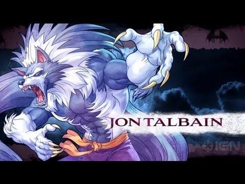 Darkstalkers - Jon Talbain Moves List - ignentertainment