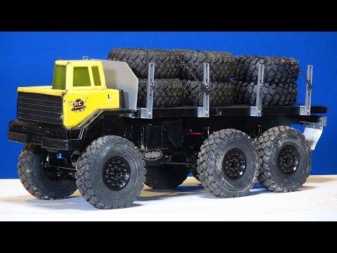 RC ADVENTURES - 6x6 Motor Swap - Blackwell 1/10th Scale Custom Heavy Hauler - UCxcjVHL-2o3D6Q9esu05a1Q