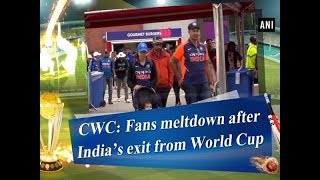 CWC: Fans meltdown after India's exit from World Cup