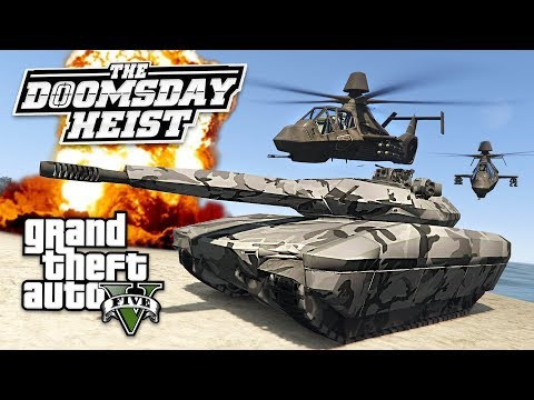 GTA 5 *DOOMSDAY HEIST DLC* INSPIRED MILITARY MOD!! (GTA 5 Mods) - UC2wKfjlioOCLP4xQMOWNcgg