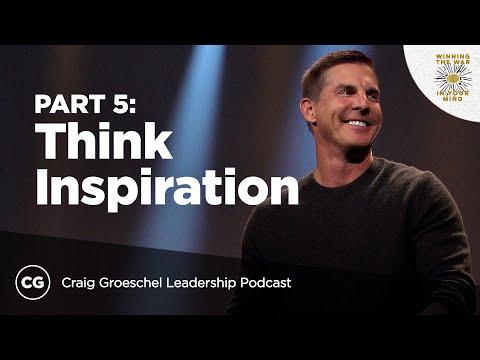 Think Inspiration Not Motivation  Master Class