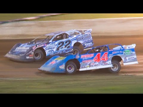 Super Late Model Feature | Eriez Speedway | 6-27-21 - dirt track racing video image