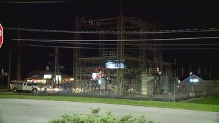 Over 1,800 customers without power in Boardman after substation catches fire