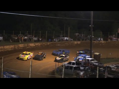 Stock 4a at Winder Barrow Speedway July 3rd 2021 - dirt track racing video image