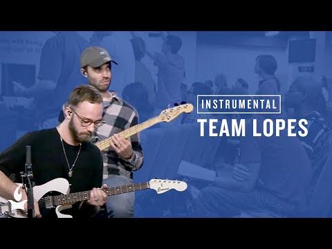 (Instrumental) Team Lopes -- The Prayer Room Live Moment