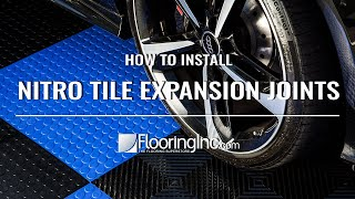 How to Install Nitro Tile Expansion Joints - FINC