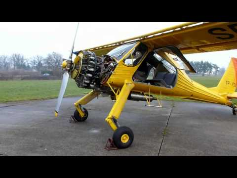 Wilga 2000 RC Electric Plane with ESS Air Engine Sound