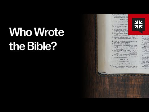 Who Wrote the Bible? // Ask Pastor John