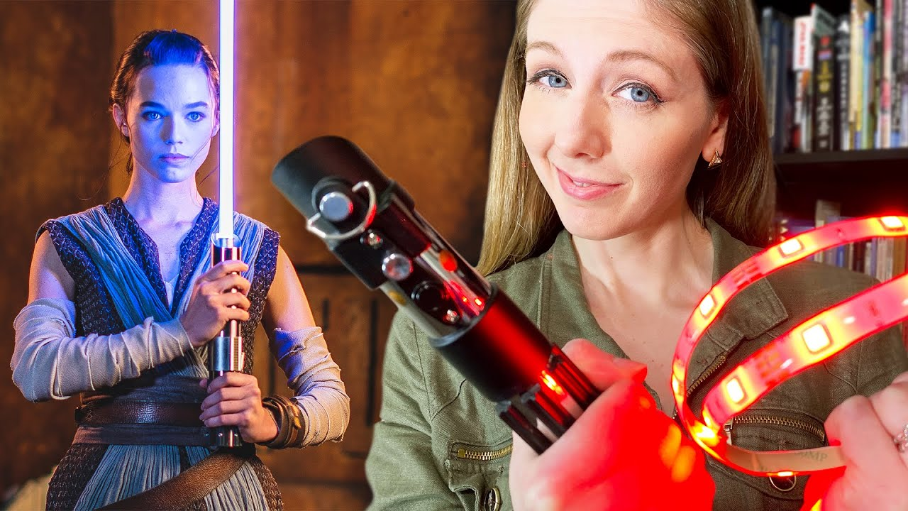 Disney's REAL lightsaber looks insane! Here's how it may work