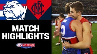 Dunkley brothers put on a show | Western Bulldogs v Melbourne Highlights | Round 17, 2019 | AFL