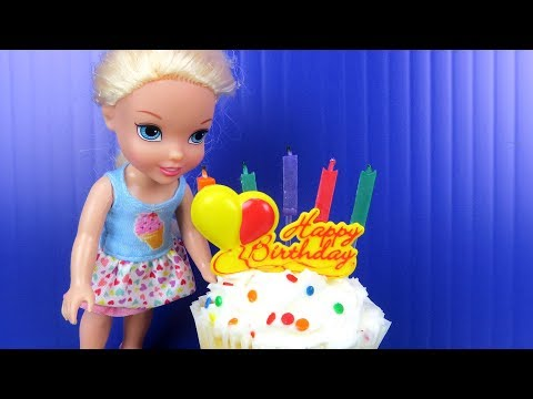 Elsa's BIRTHDAY party ! Elsa and Anna toddlers party with friends - Surprise Gifts - Cake - UCQ00zWTLrgRQJUb8MHQg21A