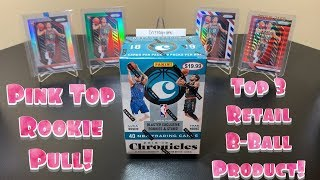 2018-19 Panini Chronicles Basketball Retail Blaster Box Break - Pink Top Rookie Pull!!!