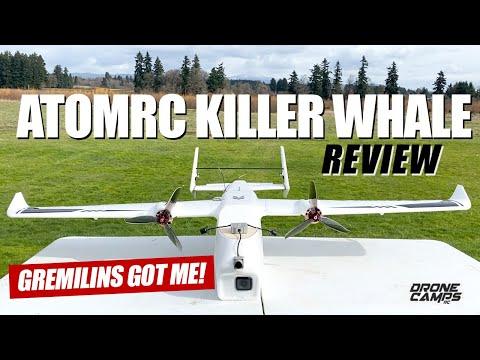 WOW GREMLINS GOT ME!!! - Eachine AtomRC Killer Whale Long Range Fpv Plane - FULL REVIEW & FLIGHTS - UCwojJxGQ0SNeVV09mKlnonA
