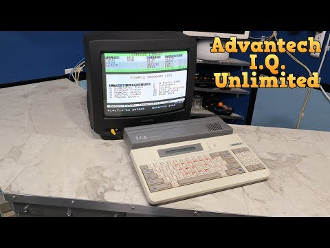 The Advantech I.Q. Unlimited with BASIC and a Z80 CPU. - UC8uT9cgJorJPWu7ITLGo9Ww