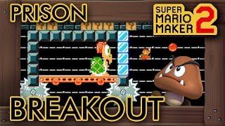 Super Mario Maker 2 - Prison Breakout with Goomba