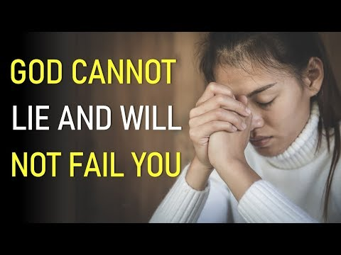 GOD CANNOT LIE AND WILL NOT FAIL YOU - BIBLE PREACHING  PASTOR SEAN PINDER