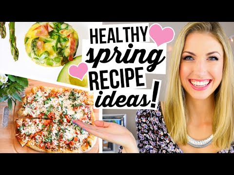 What I Eat In a Day #2 || Healthy Spring Recipe Ideas! - UCK-4JyAcQYBasFAe367on7w