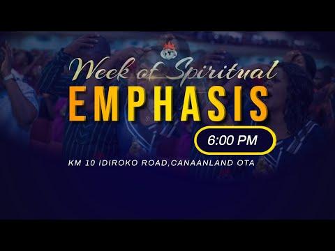 DOMI STREAM: WEEK OF SPIRITUAL EMPHASIS   4, AUGUST  2021 FAITH TABERNACLE